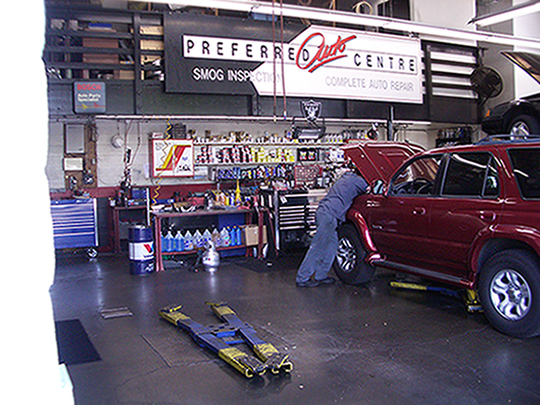 Preferred Auto Centre, Thousand Oaks CA and Westlake Village CA, 91362 and 91359, Auto Repair, Brake Repair, Engine Repair, Transmission Repair and Auto Electrical Service