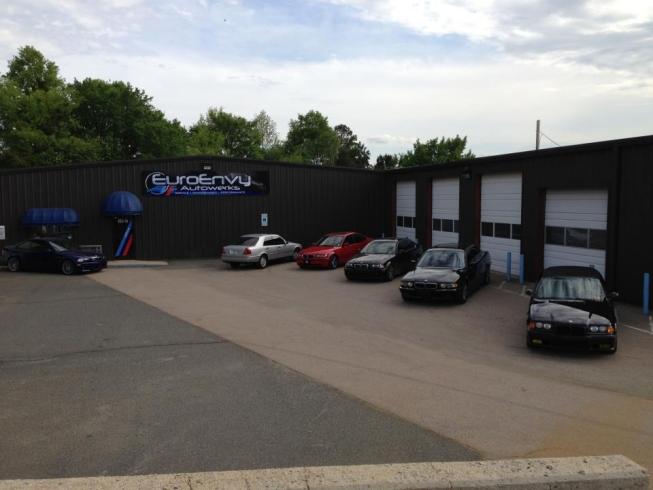 Euroenvy autowerks auto repair concord nc mercedes for Mercedes benz service charlotte nc