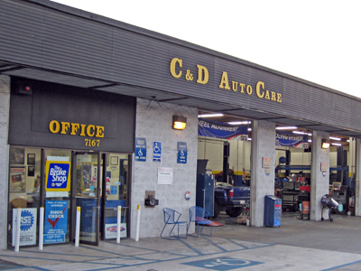 C & D Auto Care, La Mesa CA and San Diego CA, 91942 and 91941, Auto Repair, Engine Repair, Brake Repair, Transmission Repair and Auto Electrical Service
