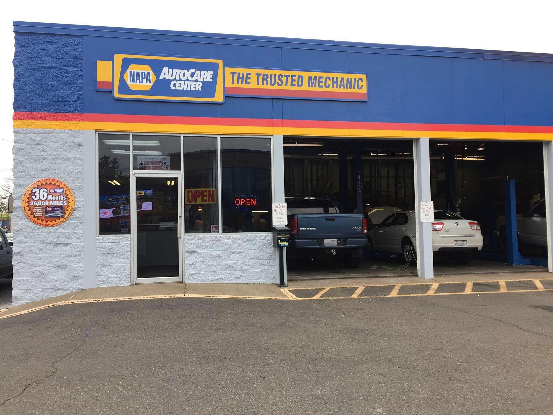 Ledoux 39 s auto service repair auto repair salem or for Doc motor works auto repair
