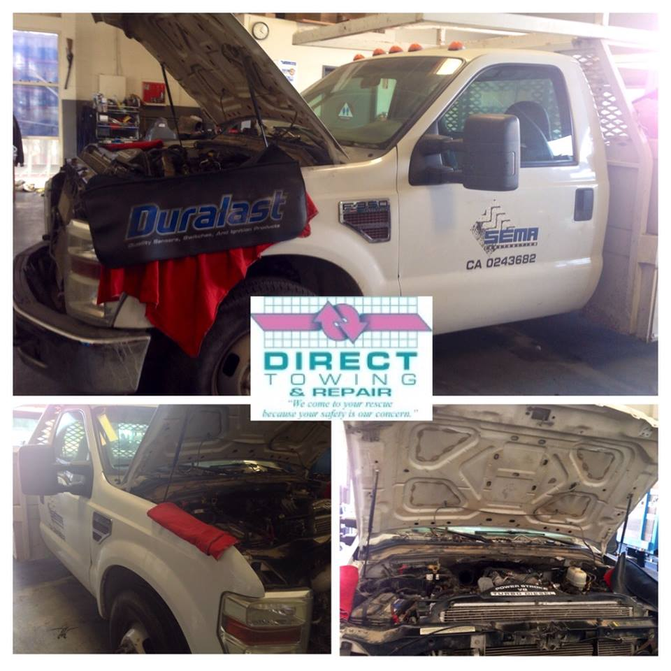 Direct Truck & Auto Repair Mobile Service, San Bernardino CA, 92410, Mobile Truck Service, Diesel and Gas Truck Repair, Heavy Duty Truck Repair, Commercial Fleet Repair and Custom Truck Repair