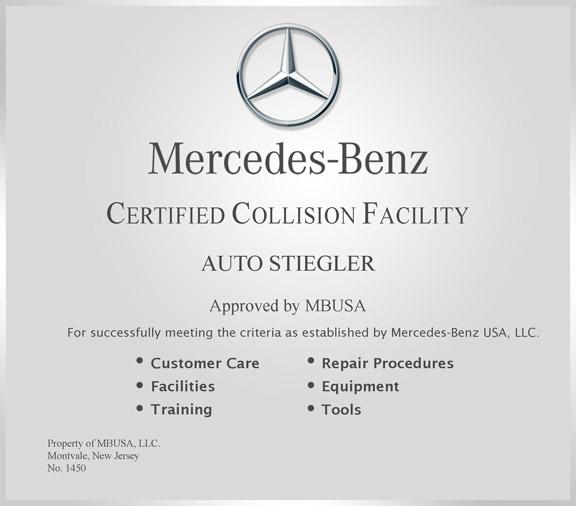 Auto Stiegler Mercedes Body U0026 Collision Repair, Reseda CA, 91335, Mercedes  Body Repair