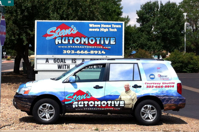Stan's Automotive, Lafayette CO and Louisville CO, 80026 and 80027, Auto Repair, Tires, Brake Repair, Auto Service and Wheel Alignment