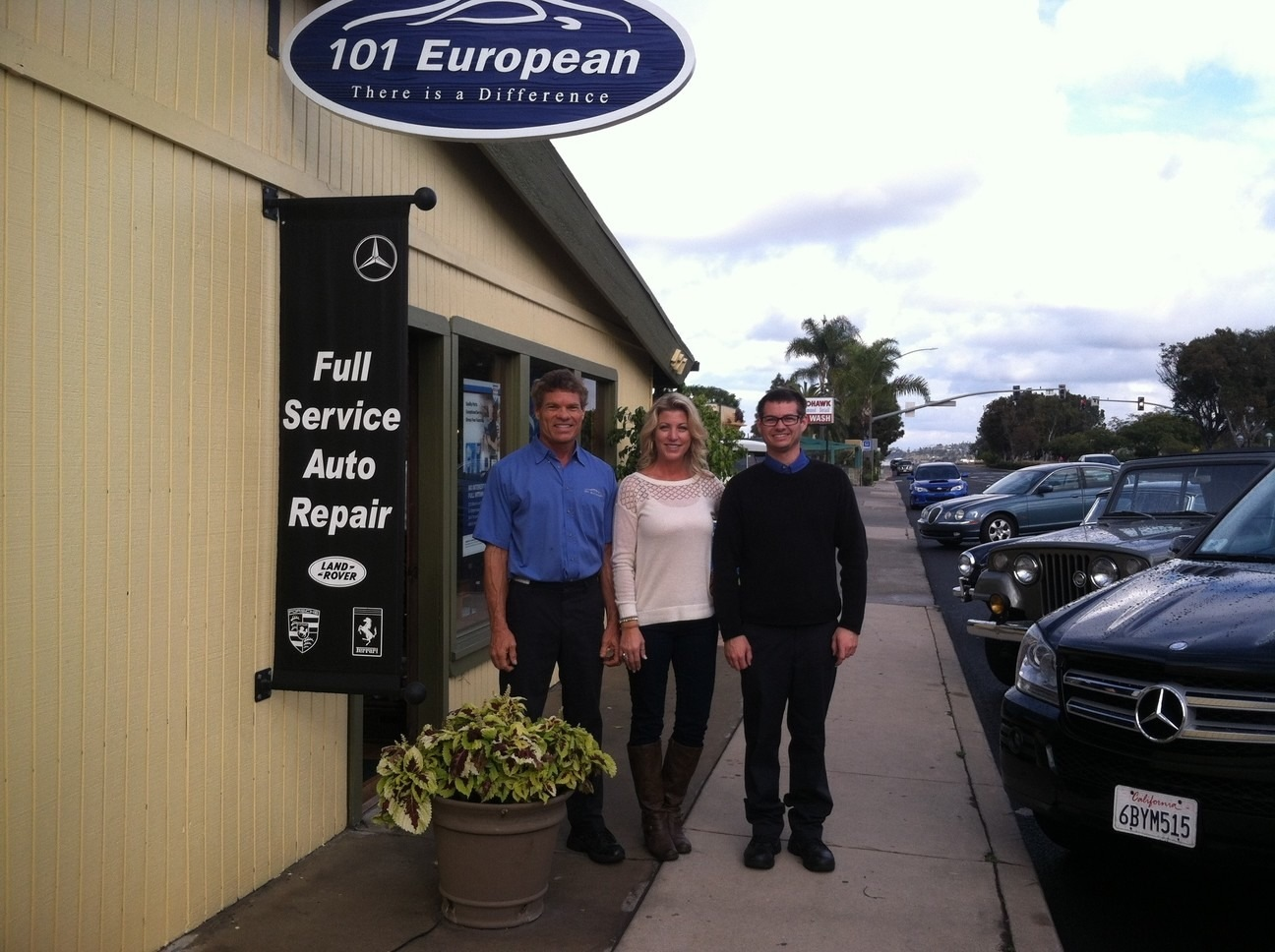 101 European Automotive, Solana Beach CA and Cardiff CA, 92075 and 92007, Auto Repair, Audi Repair, BMW Repair, Mercedes Repair and Porsche Repair