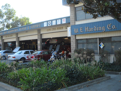 Harding foreign auto repair auto repair san jose ca for Mercedes benz repair san jose