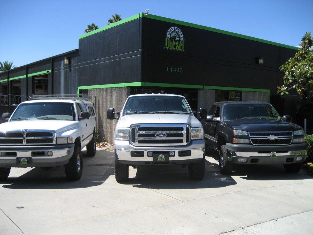 East County Diesel Inc., El Cajon CA and San Diego CA, 92021, Diesel Repair, Cummins Repair, Duramax Repair, Powerstroke Repair and TDI Repair
