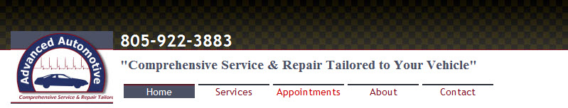 Advanced Automotive Services, Santa Maria CA, 93458, Auto Repair, Smog Check Station, Brake Repair, Transmission Repair and Ford Repair