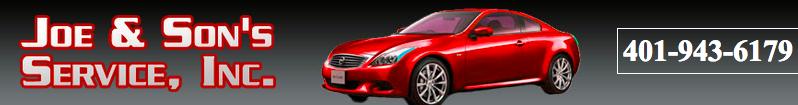 Joe & Son's Service, Cranston RI, 02920, Auto Repair, Engine Repair, Brake Repair, Transmission Repair and Auto Electrical Service