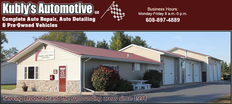 Kubly's Automotive, Brodhead WI, 53520, Maintenance & Electrical Diagnostic, Auto Repair, Brake Repair, Suspension Work and Diesel Repair