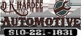 D K Hardee Automotive, Fayetteville NC and Hope Mills NC, 28306 and 28348, Auto Repair, BMW Repair, Audi Repair, Mercedes Repair and Mini Repair