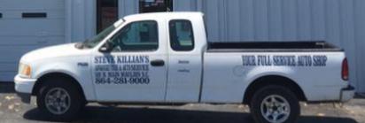 Killian Automotive, Mauldin SC, 29662, Maintenance & Electrical Diagnostic, Auto Repair, Brake Repair, Suspension Work and Tire and Alignment Service
