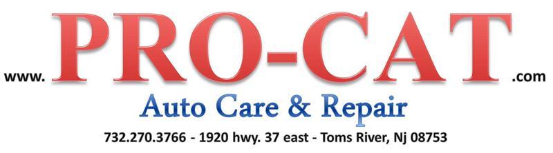 PRO-CAT Auto & Truck Repair, Toms River NJ, 08753, Automotive repair, Oil Changes, Brake Service, Engine Repair and Air Conditioning Service