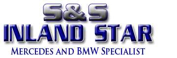 S And S Inland Star Mercedes, San Bernardino CA and Highland CA, 92410 and 92346, Mercedes-Benz Repair, BMW Repair, Audi Repair, Volkswagen Repair and Mini Cooper Repair